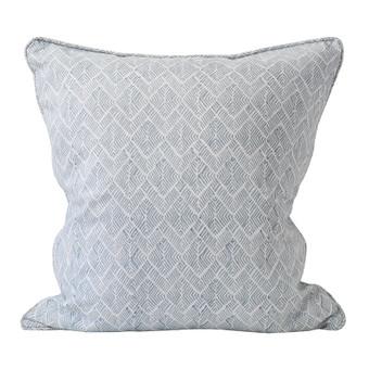 Phulkari Dusk linen cushion 50x50cm