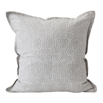 Pomelo Chalk linen cushion 50x50cm