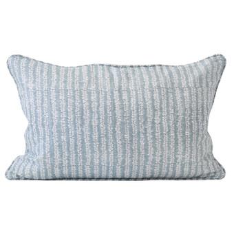 Yoko Dusk linen cushion 35x55cm