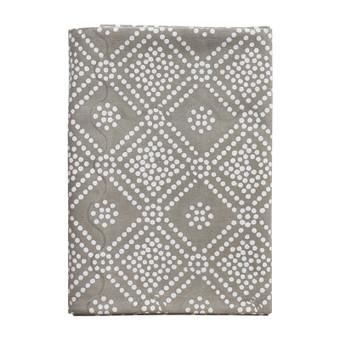 Bandol Inverse Mushroom cotton tablecloth 150x280cm