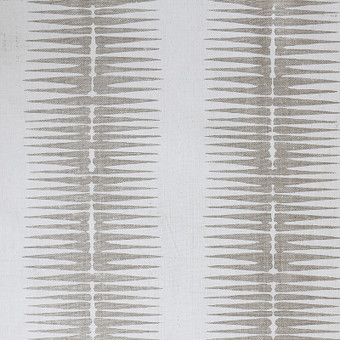 "Ikat Chalk (52"") P073 Upholstery Oatmeal Linen"