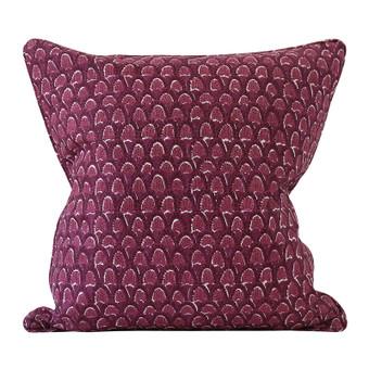 Scopello Sangria linen cushion 50x50cm