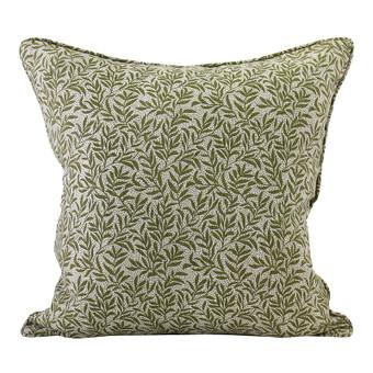 Granada Moss linen cushion 50x50cm