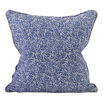 Granada Lapis linen cushion 50x50cm