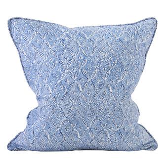 Palladio Lapis linen cushion 50x50cm