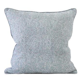 Granada Dusk linen cushion 50x50cm