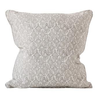 Palladio Fawn linen cushion 50x50cm