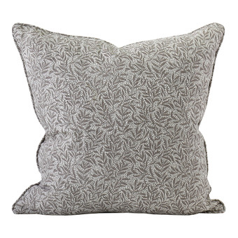 Granada Mud linen cushion 50x50cm