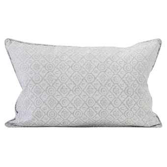 Kepos Chalk linen cushion 35x55cm