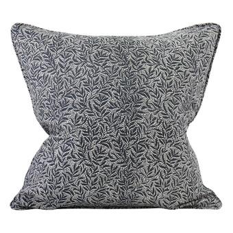 Granada Slate linen cushion 50x50cm