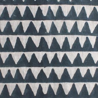 Pyramids Slate Linen