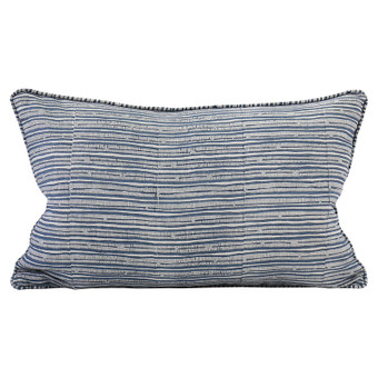 Pilu Denim linen cushion 35x55cm