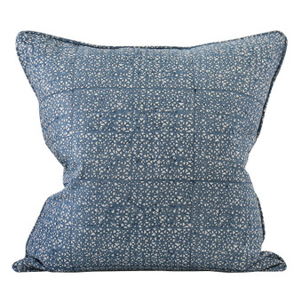 Seville Denim linen cushion 50x50cm