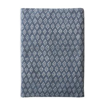 Sashiko Levi cotton tablecloth 150x280cm