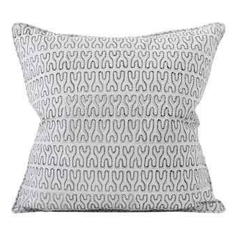 Nagari Chalk linen cushion 50x50cm