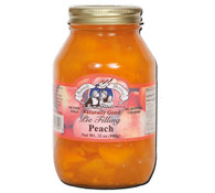 Amish Wedding Peach Pie Filling | Amish Country Store - Missouri