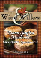 Wind & Willow Bacon Stuffed Mushroom Cheeseball Mix | Amish Bulk Food Store in Branson, Missouri