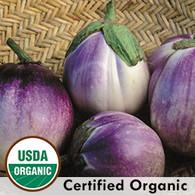 Rosa Bianca Eggplant Organic