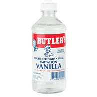 Imitation Vanilla Dbl Strength, Clear 8oz