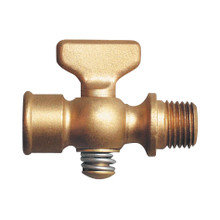 Brass Air Cock - Tee Handle Male & Female