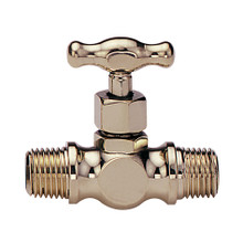"EFI 4P 1/8"" NPT Bronze Drain Cock Double Male"