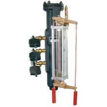 EFI 58-5 Safety Boiler Water Column - High and Low Alarm, Water Column Only