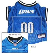Detroit Lions NFL Football ULTRA Pet Jersey