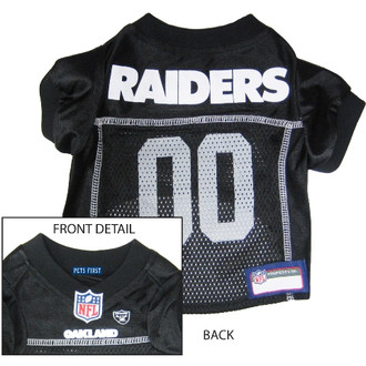 Oakland Raiders NFL Football ULTRA Pet Jersey