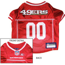 San Francisco 49ers NFL Football ULTRA Pet Jersey