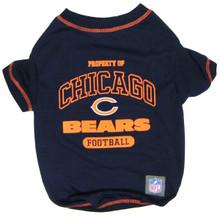 Chicago Bears NFL Football Pet T-Shirt