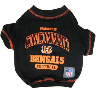 Cincinnati Bengals NFL Football Pet T-Shirt