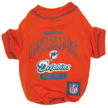 Miami Dolphins NFL Football Pet T-Shirt