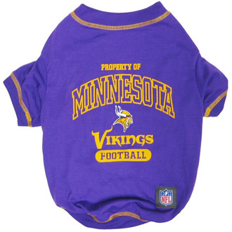 Minnesota Vikings NFL Football Pet T-Shirt