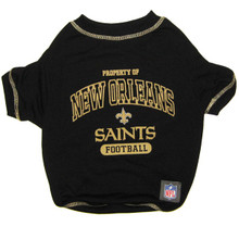 New Orleans Saints NFL Football Pet T-Shirt
