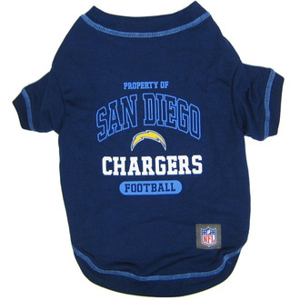San Diego Chargers NFL Football Pet T-Shirt