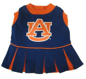 Auburn Football Pet Cheerleader Outfit