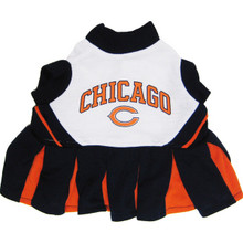 Chicago Bears NFL Football Pet Cheerleader Outfit