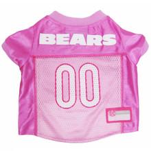 Chicago Bears PINK NFL Football Pet Jersey