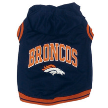 Denver Broncos NFL Football Dog HOODIE