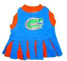 Florida Gators Dog Cheerleader Outfit