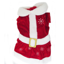 Mrs. Santa Claus Pet Costume **CLEARANCE**