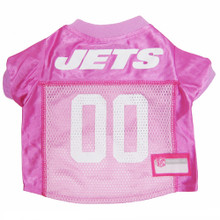 N.Y. Jets PINK NFL Football Pet Jersey