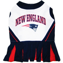 New England Patriots NFL Football Pet Cheerleader Outfit
