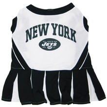 New York Jets NFL Football Pet Cheerleader Outfit