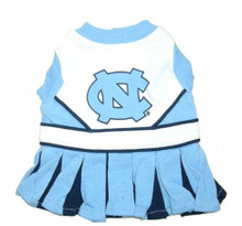 North Carolina UNC Tarheels Dog Cheerleader Outfit