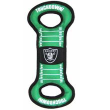 Oakland Raiders NFL Field Tug Toy
