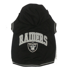 Oakland Raiders NFL Football Dog HOODIE
