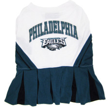 Philadelphia Eagles NFL Football Pet Cheerleader Outfit