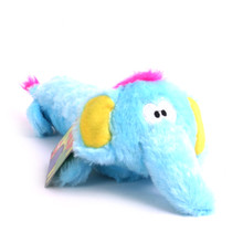 Plush Elephant Squeaker Dog Toy