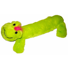 Plush Frog Squeaker Dog Toy
